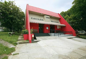 Fachada do Teatro Cacilda Becker